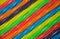 Stock Image : Rainbow colored licorice background
