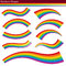 Stock Image : Rainbow Shapes