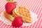 Stock Image : Raw strawberry