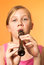Stock Image : The recorder wind instrument