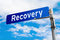 Stock Image : Recovery Road Sign