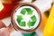 Stock Image : Recycle concept