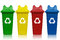 Stock Image : Recycling bins