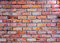 Stock Image : Red brick wall background