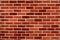 Stock Image : Red brick wall
