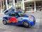 Stock Image :  Red Bull Mini Cooper