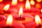 Stock Image : Red candles background