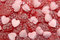 Stock Image : Red candy background