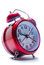 Stock Image : Red clock