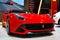 Stock Image : Red Ferrari