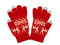 Stock Image : Red knitted gloves