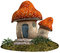 Stock Image : Red mushroom house
