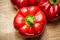 Stock Image : Red Pepper on Wood