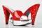 Stock Image : Red Platform Heels