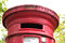 Stock Image : Red postbox