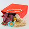 Stock Image : Red shopping bag