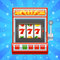 Stock Image : Red slot machine