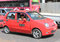 Stock Image : Red taxi in Yangon