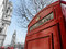 Stock Image : Red Telephone Booth in Parliament Square
