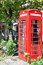 Stock Image : Red telephone box in UK