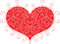 Stock Image : Red valentine heart
