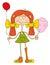Stock Image : Redhead girl