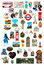 Stock Image : Refrigerator magnet collections