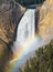 Stock Image :  Regenboog Lagere Dalingen Yellowstone