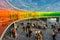 Rainbow panorama at Aarhus, Denmark