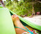 Stock Image : Relaxing in Hammock