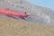 Stock Image :  Retardant samolot