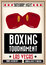 Stock Image : Retro boxing poster