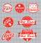 Retro Cars Labels and Stickers