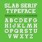 Stock Image : Retro font, alphabet