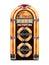 Stock Image : Retro Jukebox isolated