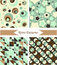 Stock Image : Retro patterns