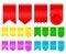 Stock Image : Ribbon tag
