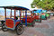 Stock Image : Rickshaw in Indonesia