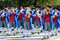 Stock Image : Riflemen's Parade at the Oktoberfest in Munich