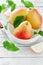 Stock Image : Ripe pears