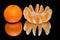 Stock Image : Ripe tangerines