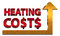 Stock Image : Rising heating costs