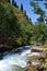 Stock Image : River Kazakhstan Almaty
