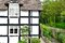 Stock Image : riverside English cottage