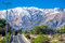 Stock Image : Road Through Andes Mountains