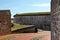 Stock Image : Brick Road Fort Macon Atlantic Beach NC