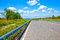 Stock Image : Road to  sky and clouds