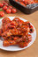 Stock Image : Roasted chicken legs