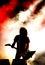 Stock Image : Rock concert
