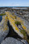 Stock Image : Rocks and rock pools in South Uist